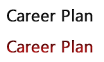career-plan